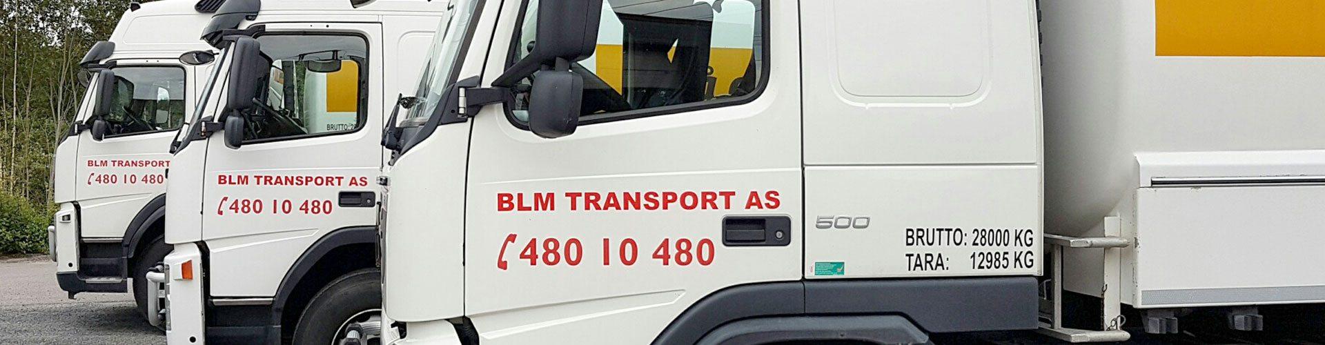 tre tankbiler fra BLM